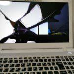 ノートPCの液晶割れ修理(液晶交換)